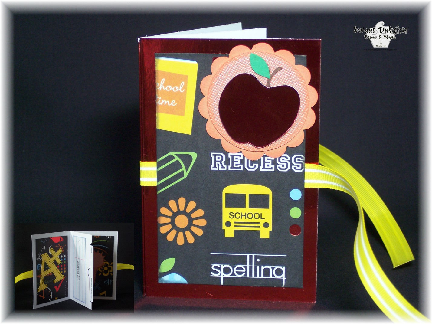 Sweet Delights Paper And More Back To School Blog Hop
