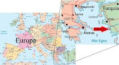 Localização de Mileto em mapa atual.