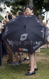 The famous DBS Ban(k)dits Umbrella