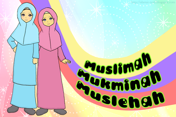wallpaper muslimah kartun. Labels: Kartun , Muslimah