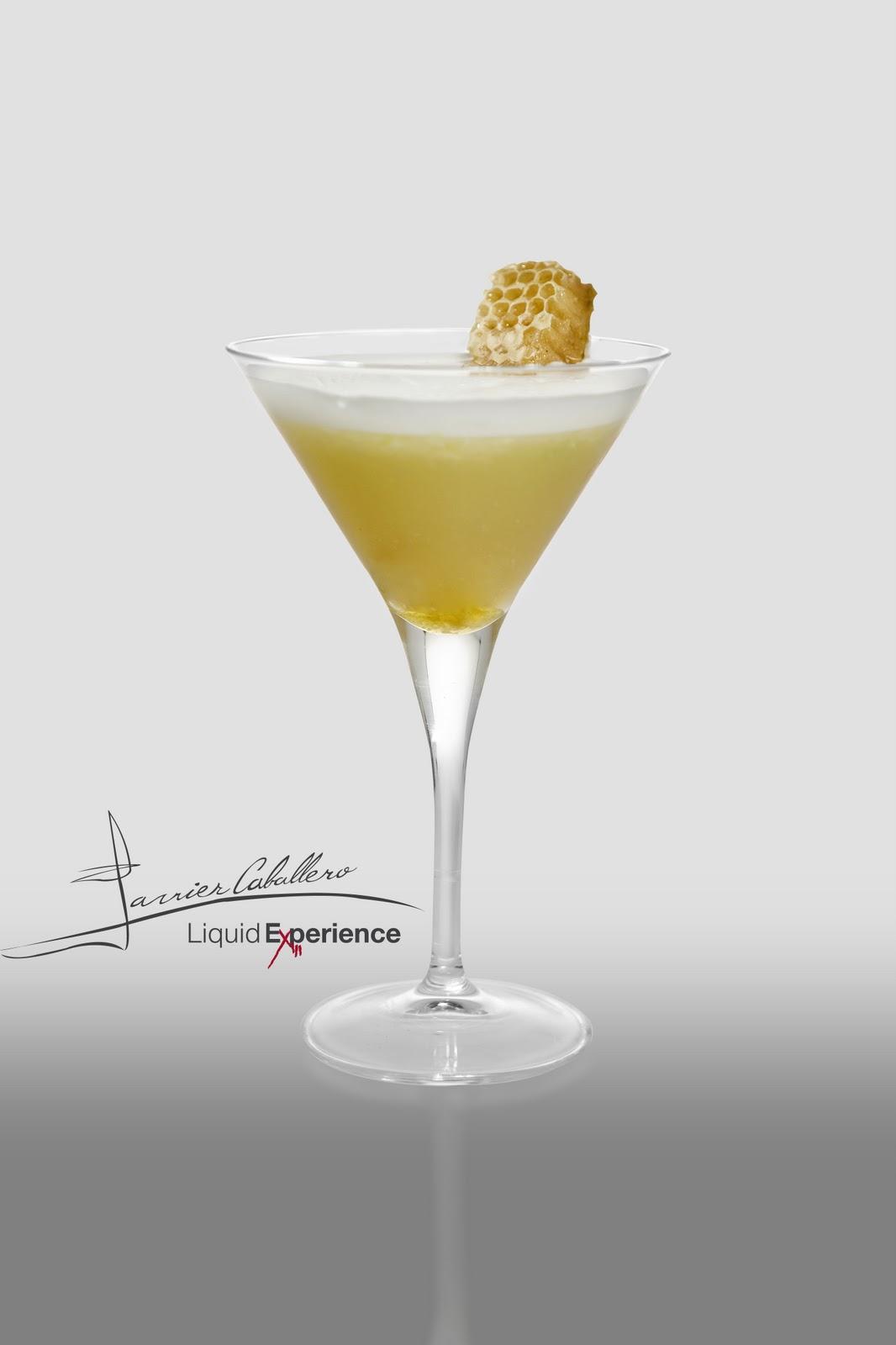 Liquid experience por javier caballero un c ctel dentro for Cocktail whisky miel
