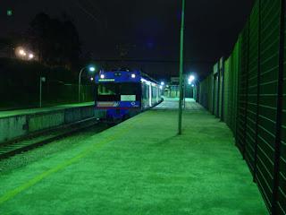 Estação de Rio Grande da Serra, 5 da matina