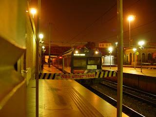 Estação da Luz, 4:00 da matina
