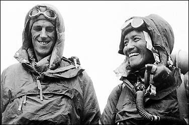 Ed Hillary and Sherpa Tenzing Norgay