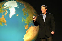 Al Gore in An Inconvenient Truth.