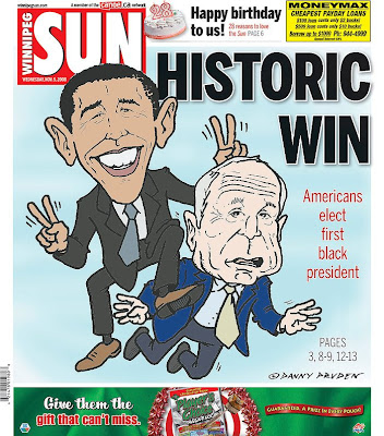 The Winnipeg Sun, Winnipeg, Canada.