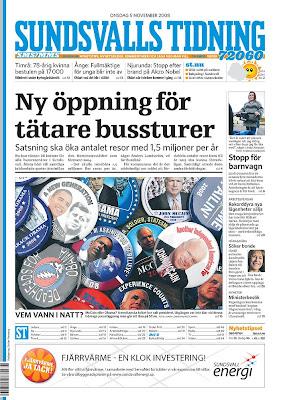 Sundsvalls Tidning, Sundsvall, Sweden.