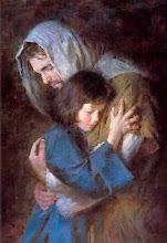 SINTA-SE ABRAÇADO(A) POR JESUS
