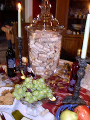 Wine & Cheese Party-Tablescape Thursday