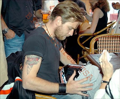 Ewan McGregor Tattoo Pictures