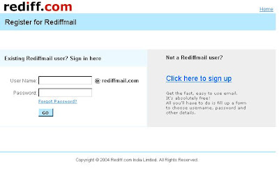 Rediffmail.com login, Rediffmail sign in page, Rediffmail login, Rediffmail.com sign in