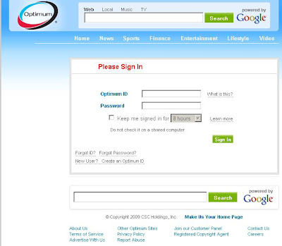 Optimum Online Sign In or Login