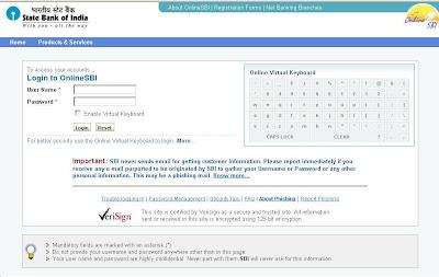 Online SBI Banking | Onlinesbi Login