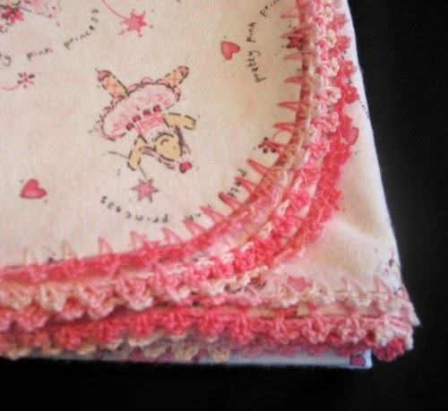 Crocheted-Edge Blanket Tutorial