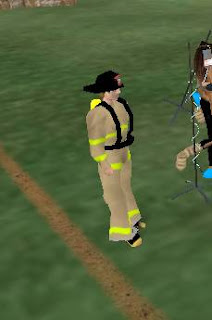 Second life - fireman firefighter