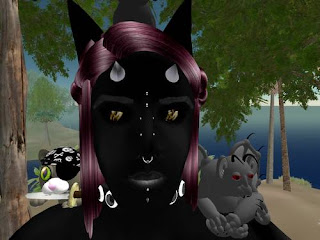 secondlife bunny bat Gargoyle creature