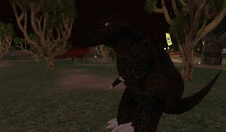 Second life animals - dinosaur