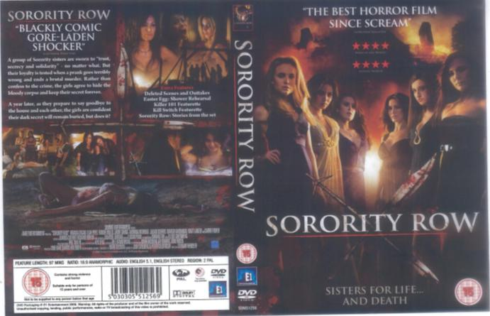 dvd cover background. The DVD cover of Sorority Row