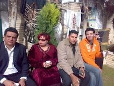 طارق امام واحمد عامر وانا ومحمد رفيع