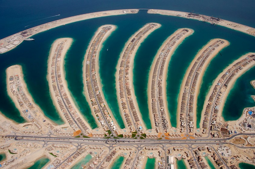 how to get to palm island dubai
