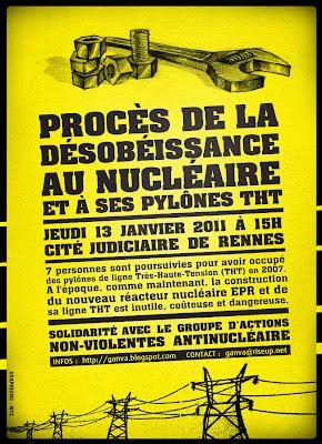 Le procès de la désobéissance au nucléiare !
