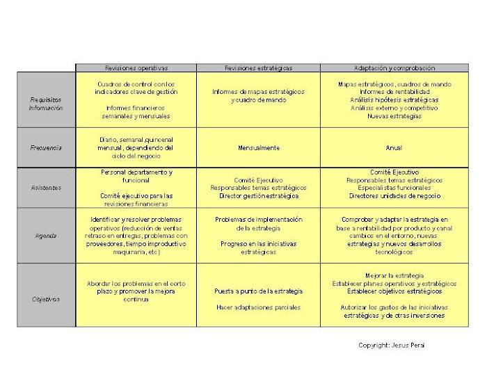 ESQUEMA 11. Revisión de la estrategia