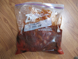 FabuLESS Freezer Cooking: Crock Pot BBQ Beef