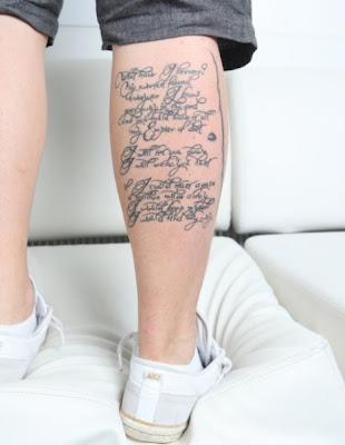 tatuajes letra m. tatuajes letras latin. Club News Tokio Hotel: Significado del Nuevo Tatuaje