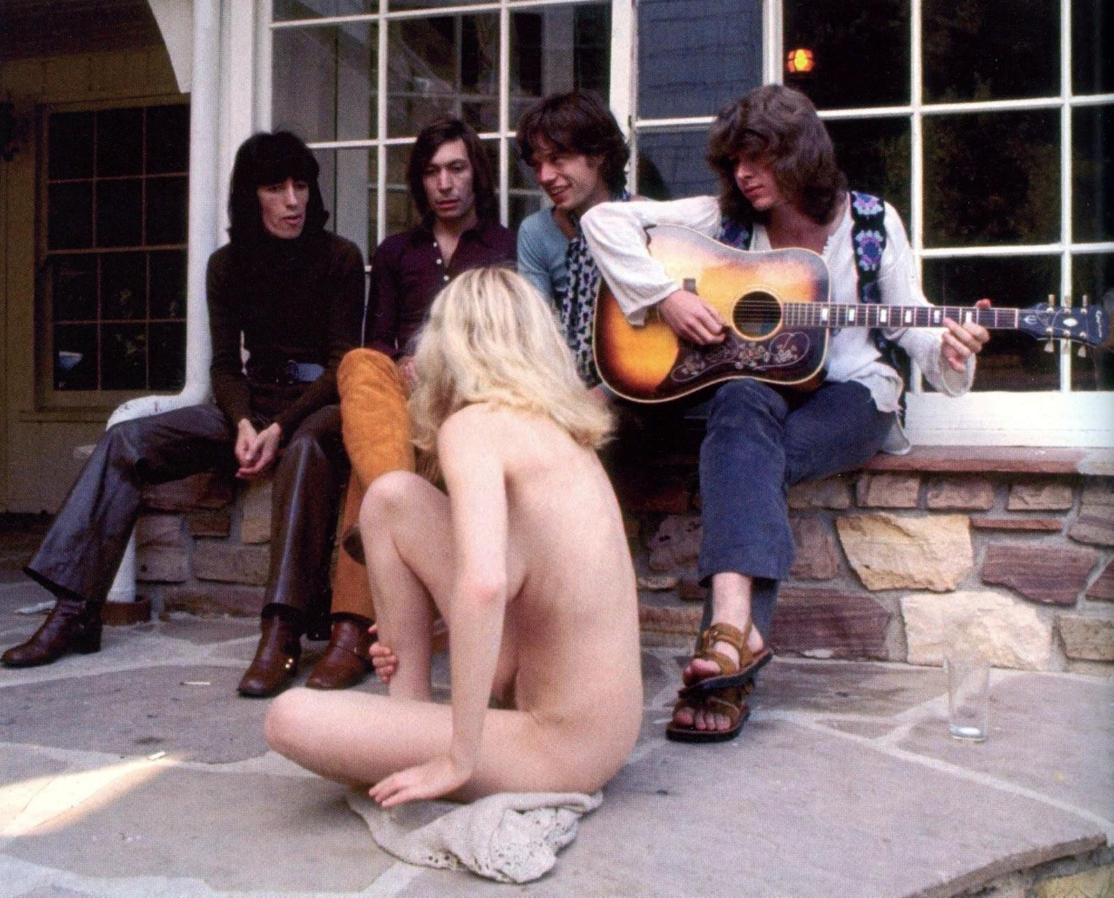 Rock groupies naked girls