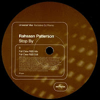 Rahsaan Patterson - Stop By (Promo VLS) (1997)