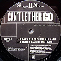 Boyz II Men - Can't Let Her Go (Promo VLS) (1998)