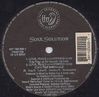 Soul Solution  - Love, Peace & Happiness (VLS) (1993)