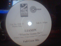 Liason - Watcha Gonna Do (Promo VLS) (2000)