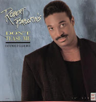 Robert Brookins - Don't Tease Me (VLS) (1989)