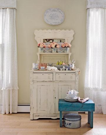 Fauna decorativa muebles restaurados para la cocina for Muebles restaurados en blanco