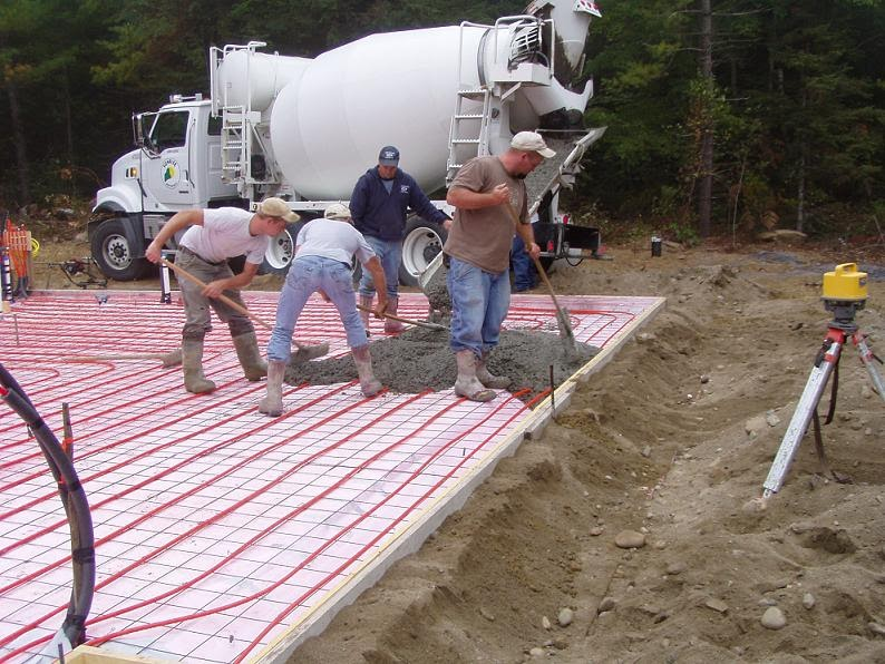 Building a small house in maine concrete slab for Building a house in maine