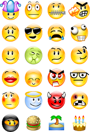 Facebook Emoticons: Funny facebook chat symbols