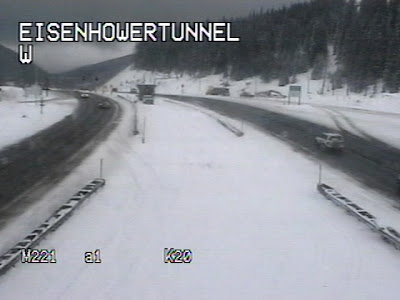 COTRIP Eisenhower Tunnel Camera
