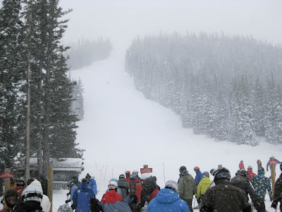 Loveland Ski Area, Snowy Day