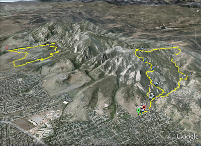 Boulder Mountain Park GPS Tracks