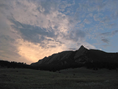 Saddle Rock/Ranger/Gregory Short Run, Dusk Sky