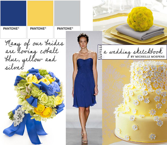 NicolaRobyn Events Wedding Colors Blue And Yellow