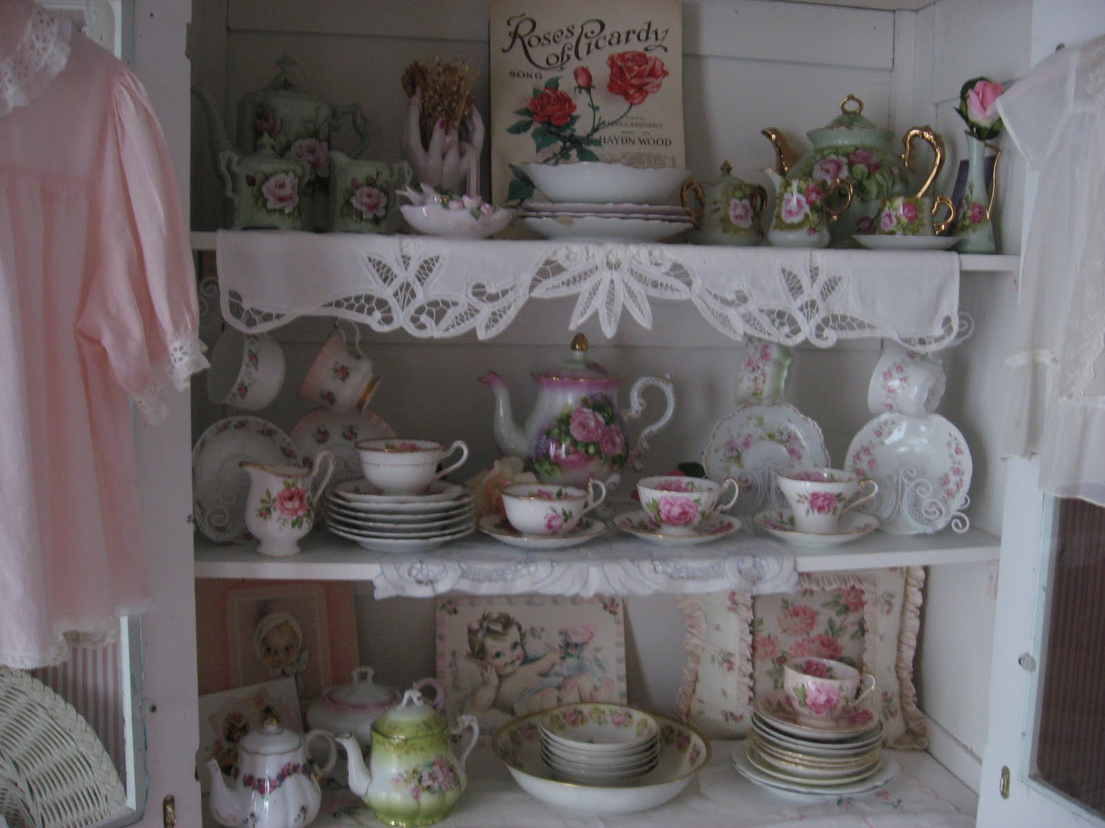 Where I Display My Teacups