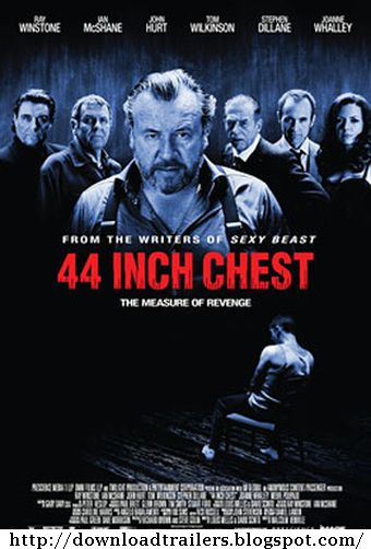 Filme Poster 44 Inch Chest DVDRip RMVB Legendado