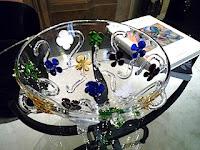 ダ・ドリアデでのガラス商品。