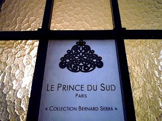 """老舗のメーカー"""" Le Prince du Sud """"のショールームへ。"""