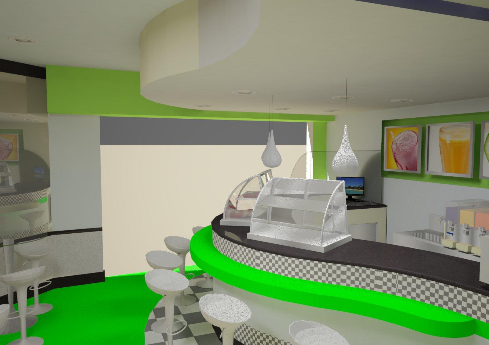 us Arquitetura: Lanchonete Vila Isa Governador Valadares #02C902 1600 1131