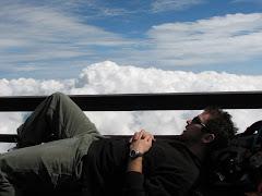 Brief Nap On Mt. Fuji