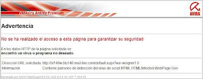 Virus Hotmail ? Tema muy importante