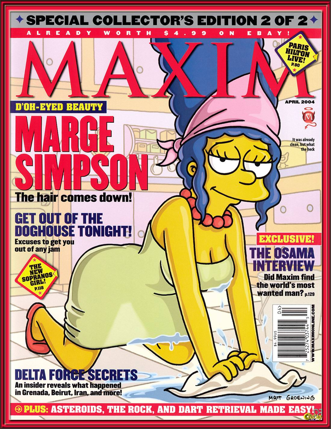 The simpson erotic